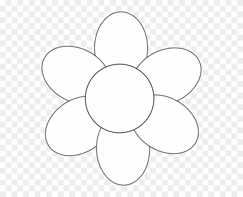 photo relating to Free Printable Flower Template named Flower Template Cost-free Printable - Moms Working day Flower Template