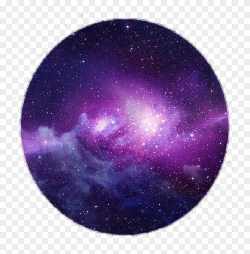 Galaxy universe. Clipart purple space hd
