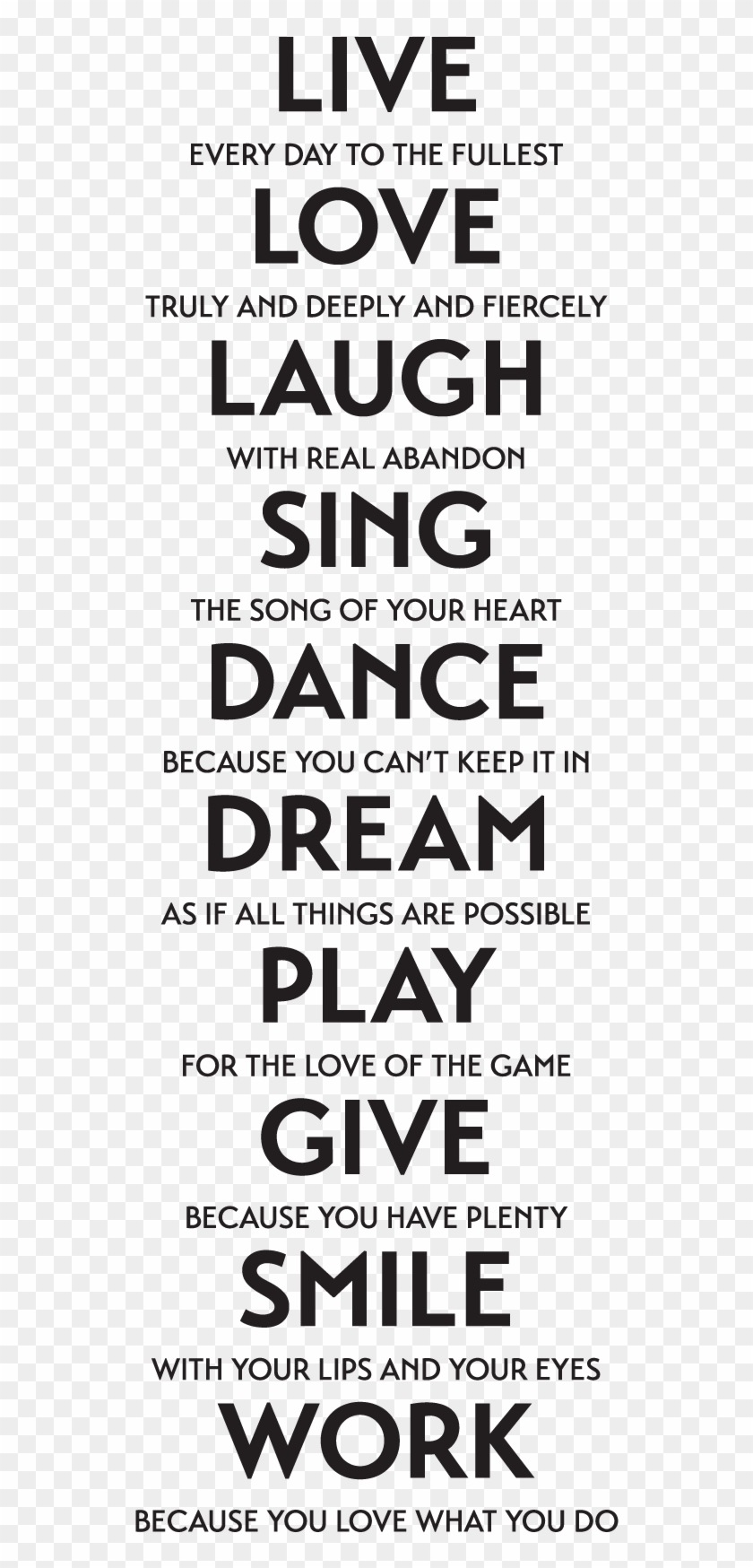 Live Love Laugh Quote - Life Love Laugh Quotes, HD Png ...