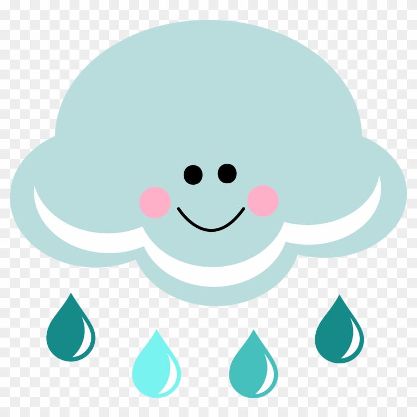Rain cartoon. Clipart cute cloud hd