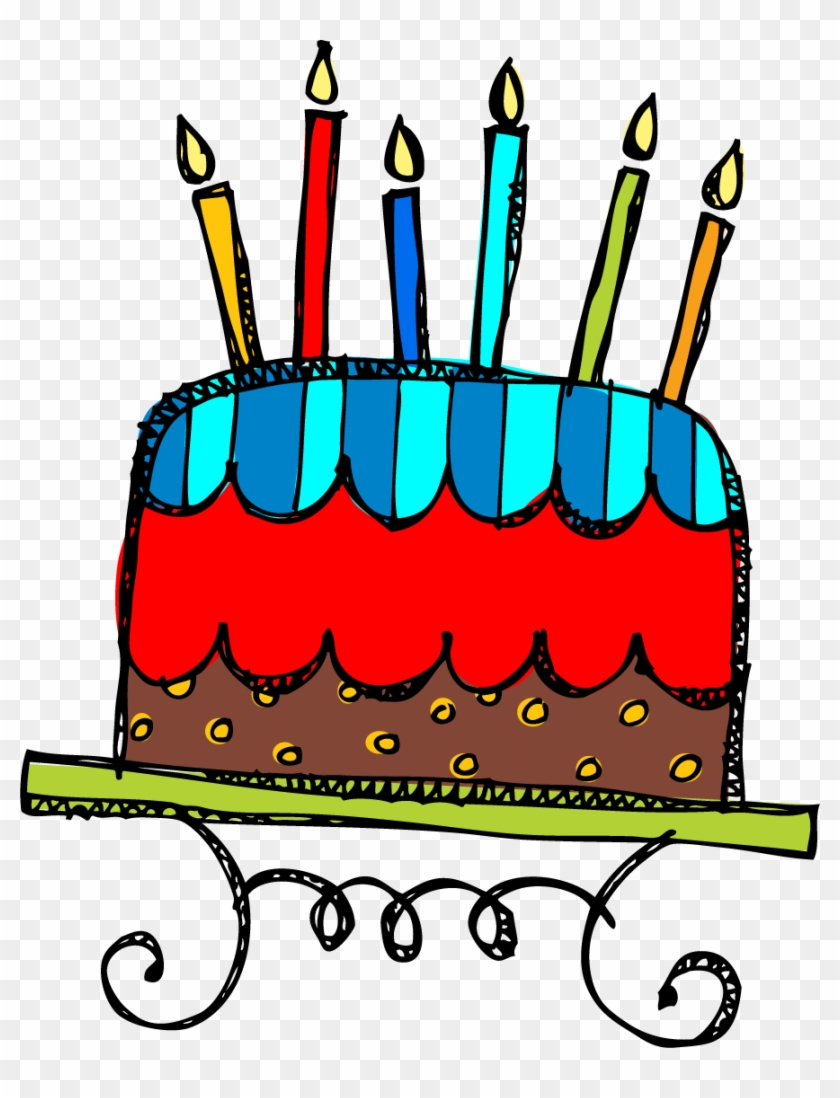Birthday Cake Candles Illustrations And Clip Art 31980