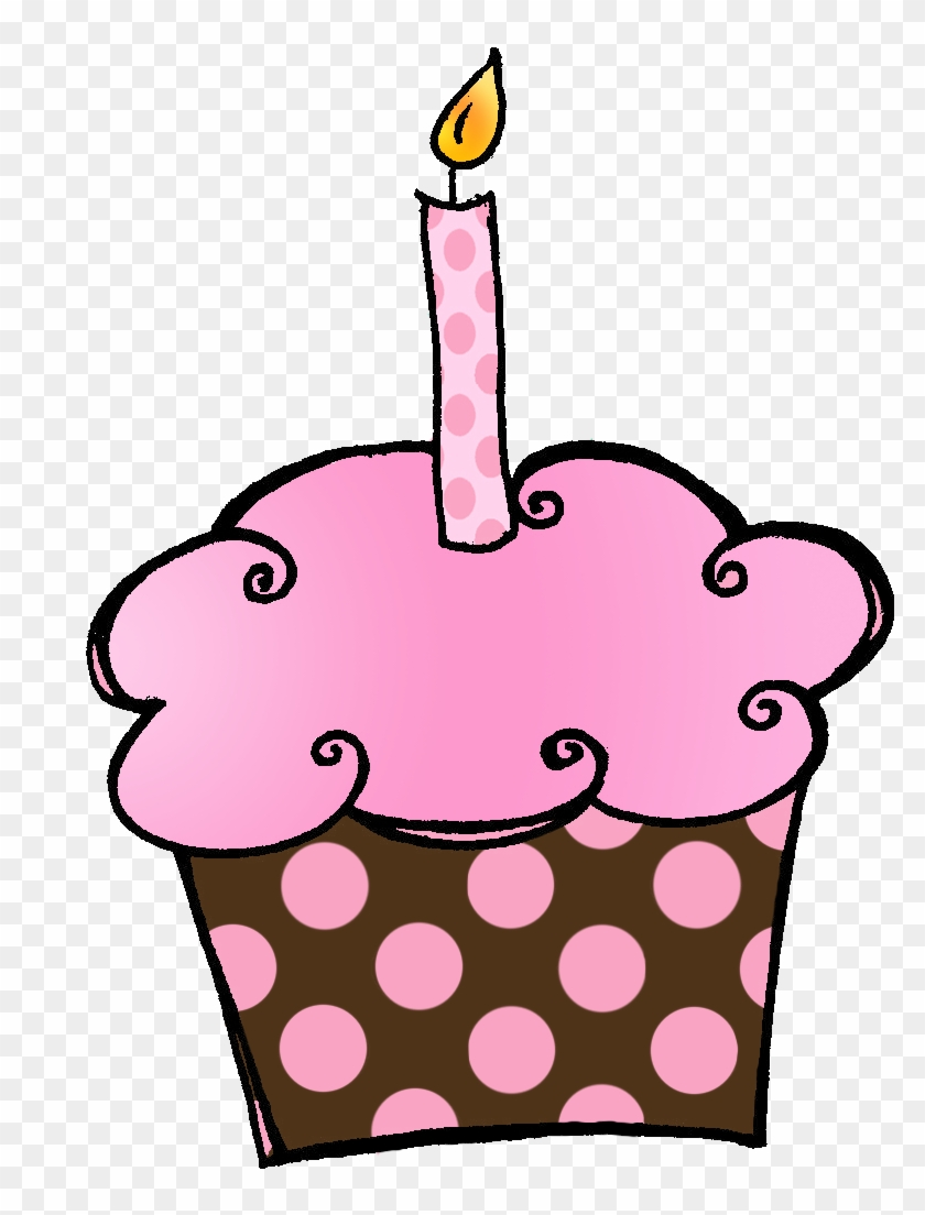 Fine Birthday Cupcake Clip Art Free Clipart Images Hello October Funny Birthday Cards Online Overcheapnameinfo