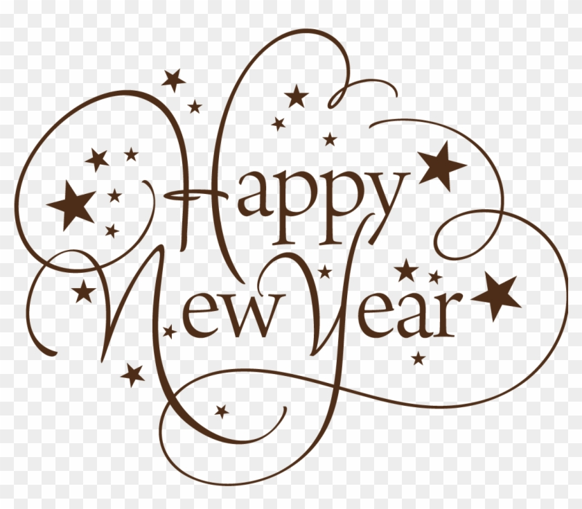 Happy New Year Text Png 72