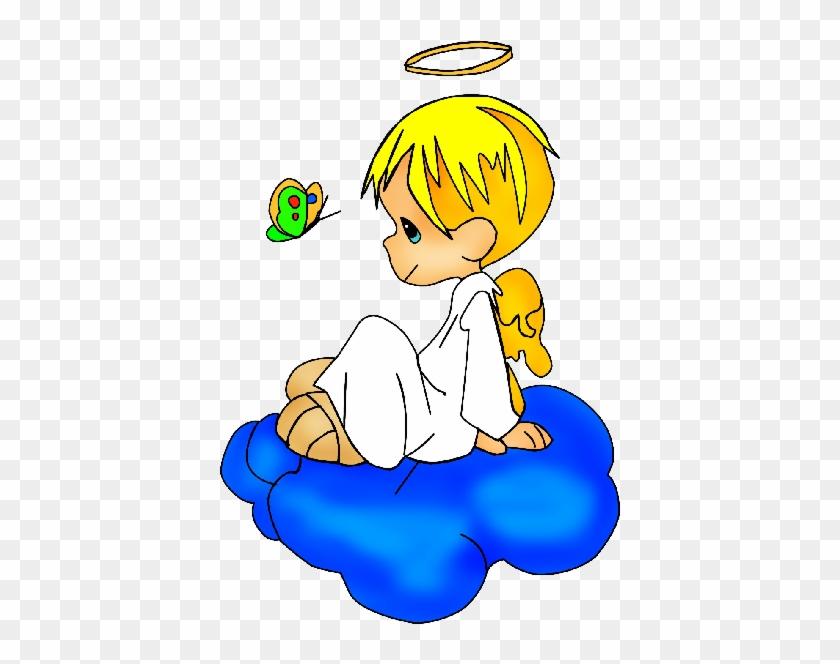 Baby Angel Clipart Cute Angel Boy Cartoon Hd Png Download