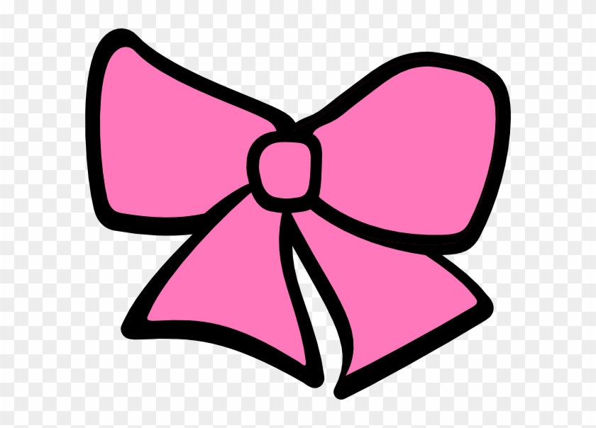 Bow hair. Minnie mouse pink clipart