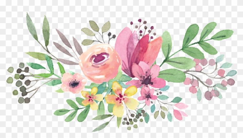 Free Png Download Watercolor Flowers Vector Png Images