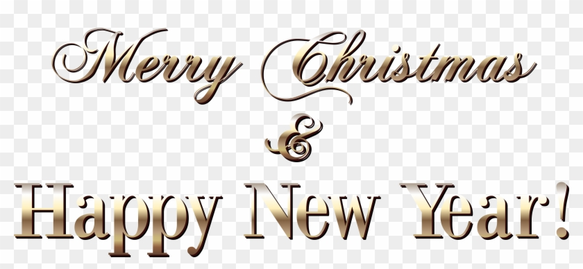 gold merry christmas text style png clipart image merry christmas and happy new year 2019 png transparent png 6078x2518 18187 pngfind gold merry christmas text style png
