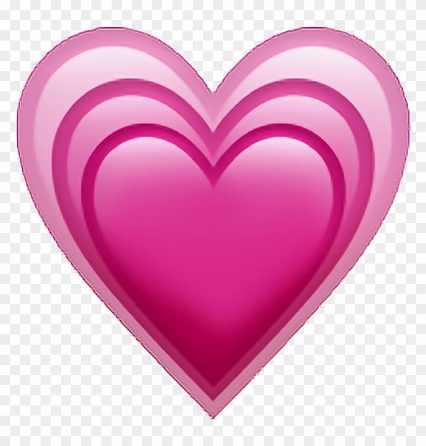 Heart Sticker - Iphone Heart Emoji Png, Transparent Png - 1024x1024