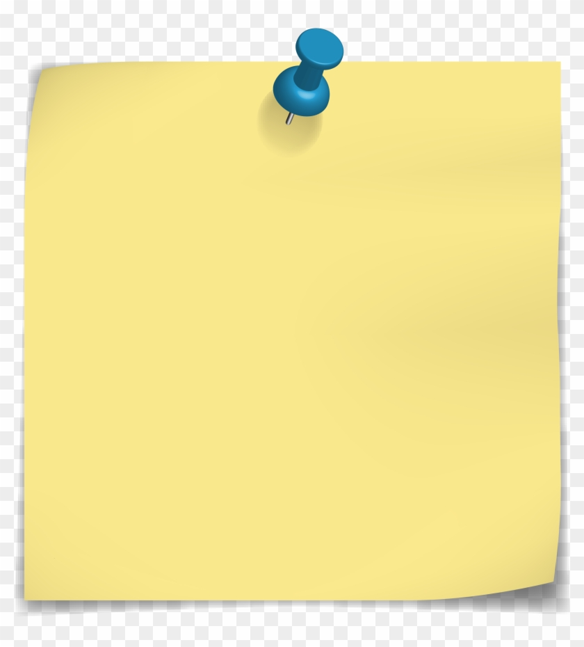 Top Push Pin With Sticky Notes Wallpapers - Electric Blue, HD Png Download