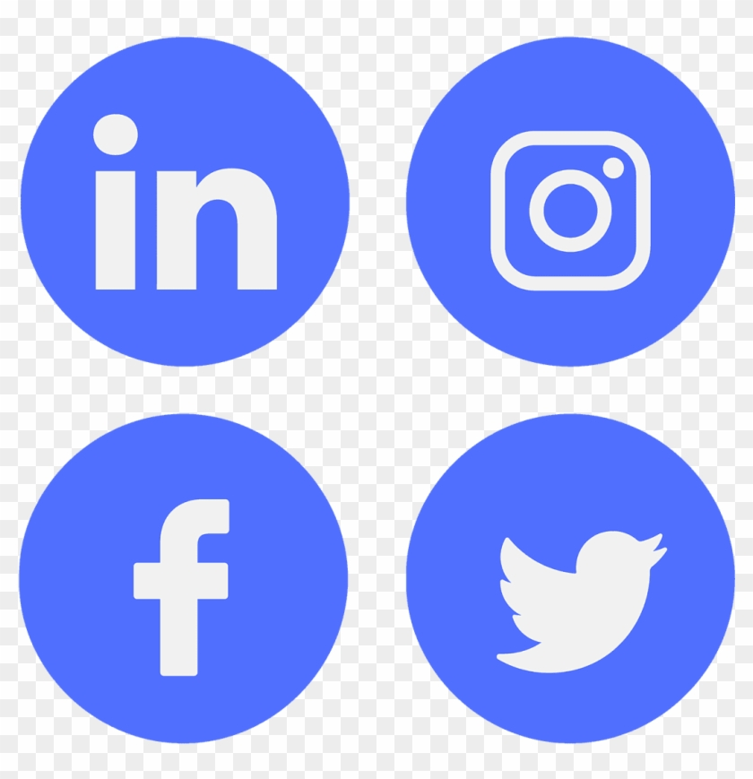 Icon Social Media Linkedin Facebook Twitter Facebook Linkedin Twitter Instagram Png Transparent Png 720x720 104225 Pngfind