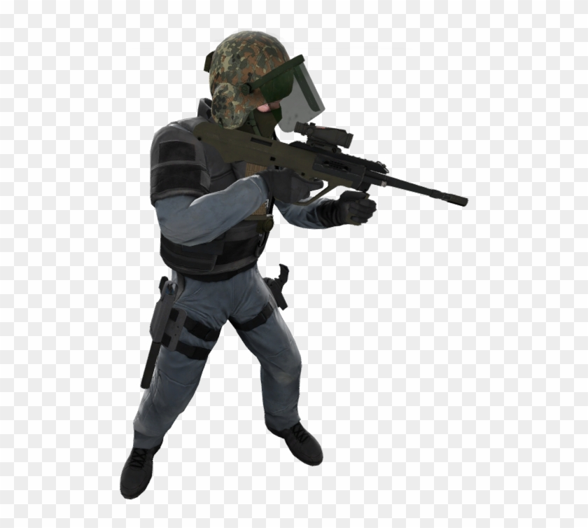 Csgo Soldier Png Graphic Free Library, Transparent Png - 500x674