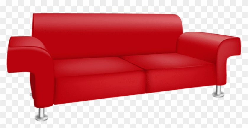 Download Red Sofa Transparent Clipart Png Photo Transparent