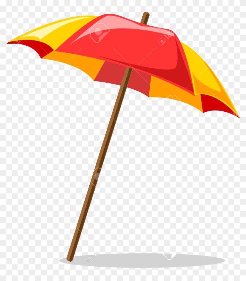 Beach Umbrella Clipart Hd Png Download 1188x1300 1013694 Pngfind