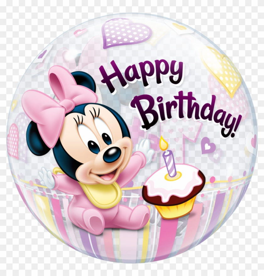 Minnie Mouse Png - Happy 1st Birthday Girl Minnie Mouse
