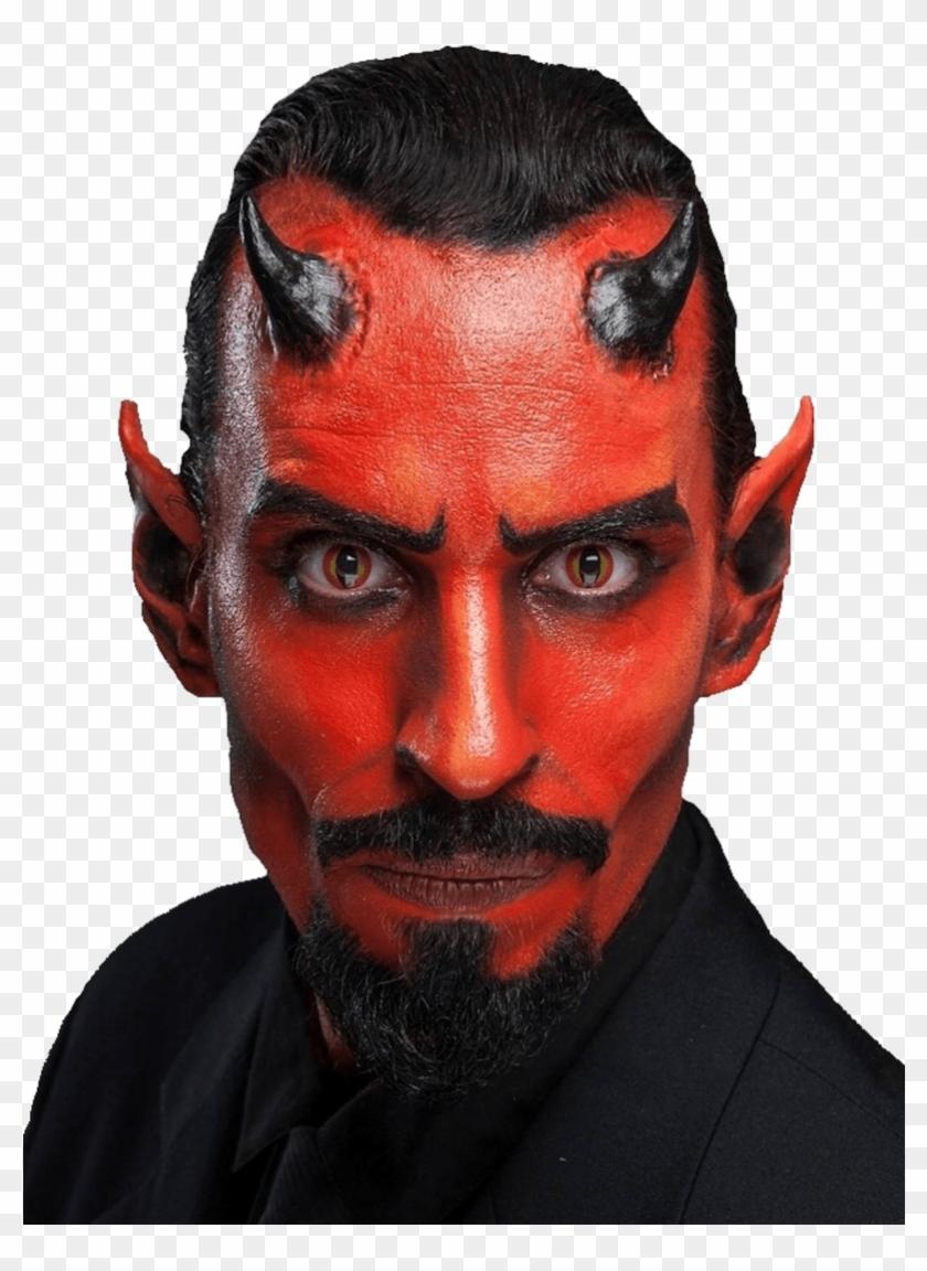 Halloween Makeup Devil.Small Devil Horns Prosthetic Kit Halloween Makeup Men Devil Hd