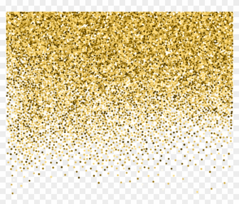Glitter decorative. Free png download gold
