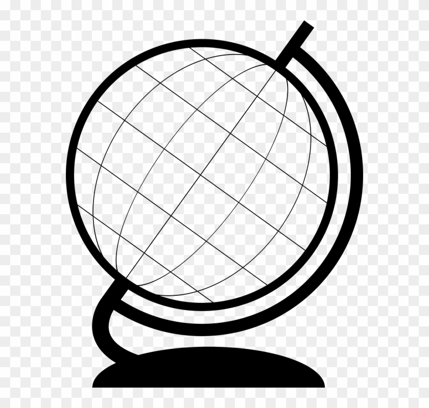 Planet simple. Earth clipart outline of
