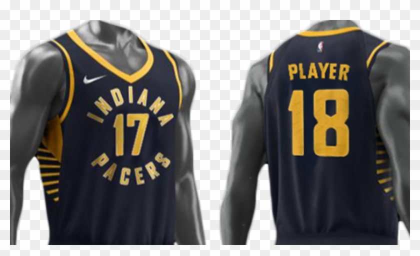the best attitude f392d ab5df Indiana Pacers Jersey 2018, HD Png Download - 1920x1080 ...