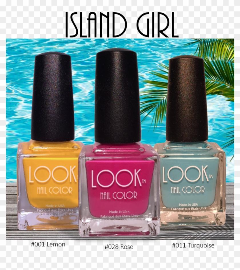 Take A Look Look Nail Color - Nail Polish, HD Png Download - 907x964 ...