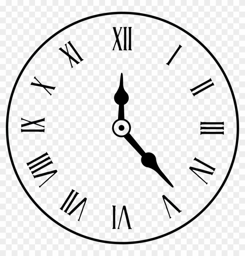 Clock Face Alarm Clock Roman Numerals Roman Numeral