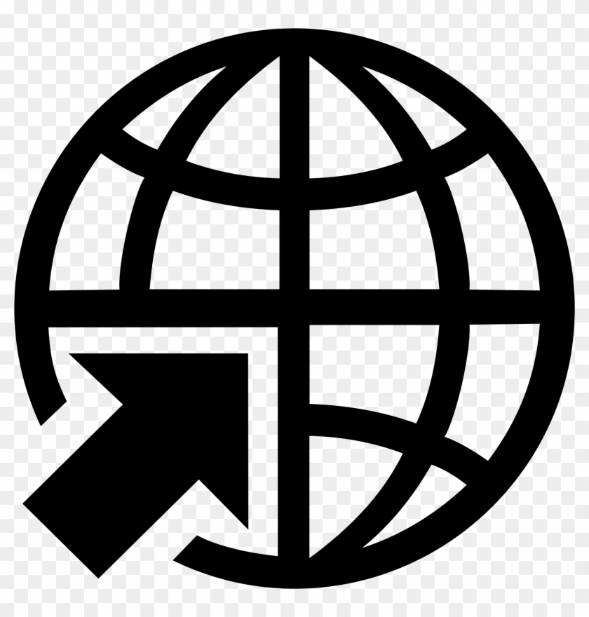 Open - Globe Icon Png Red, Transparent Png - 2000x2000