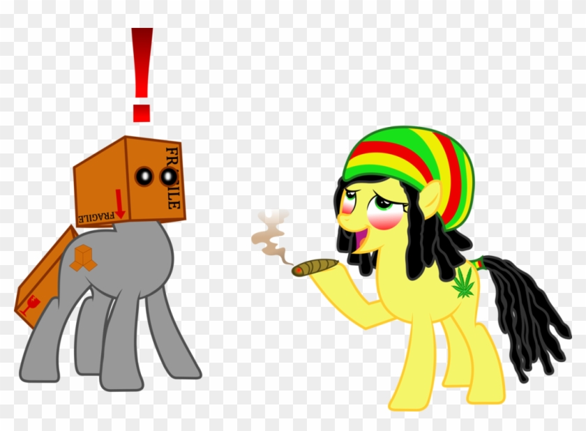 Characters Smoking Weed My Little Pony Smoking Weed Hd Png