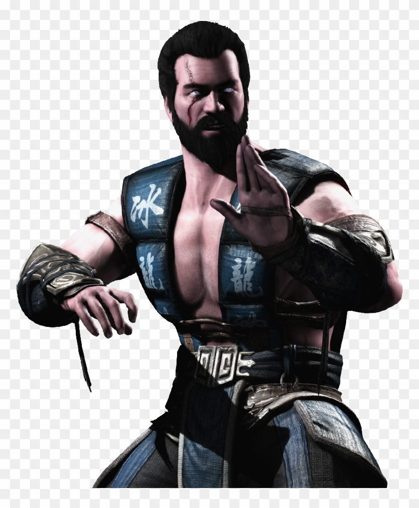 Http I Imgur Com Quywrs7 Sub Zero Mortal Kombat X Without Mask Hd Png Download 894x894 1058838 Pngfind