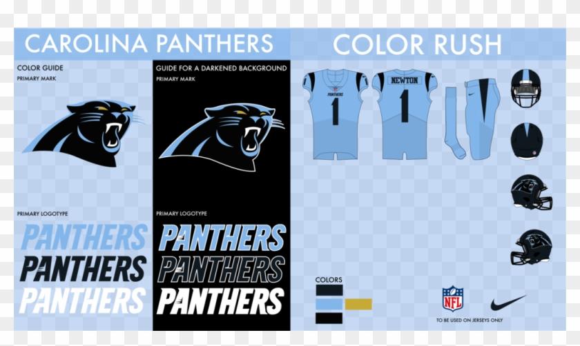 low priced 4d688 ab23c Carolina Panthers Color Rush - Carolina Panthers, HD Png ...