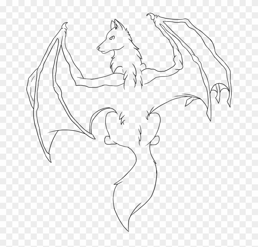 roblox demon tail Drawn Devil Real Demon Dragon Winged Wolf Base Hd Png Download 700x763 1064754 Pngfind