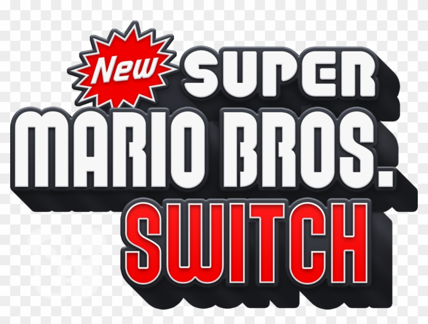 Switch Logo Png New Super Mario Bros Wii Transparent Png