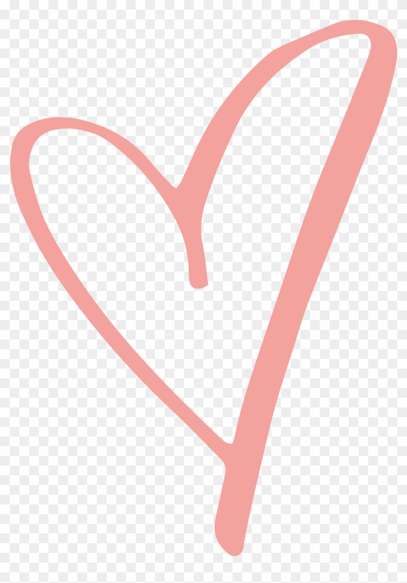 Heart rustic. Clipart love pink transparent