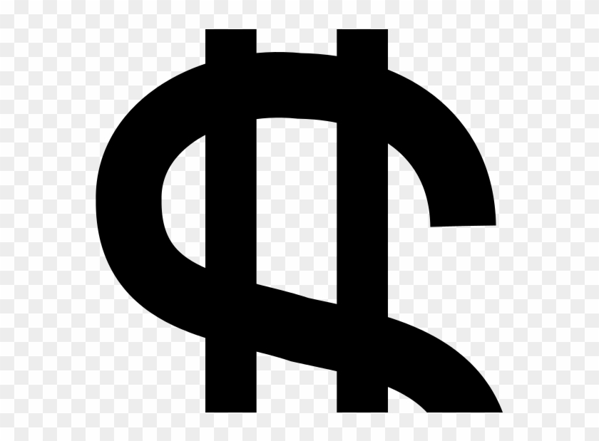 Dollar Sign One Line Or Two - Dollar Sign No Transparent, HD