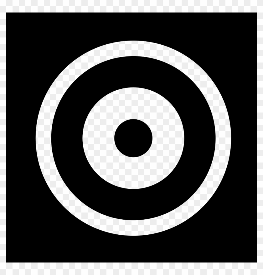 Png File Target Icon White Png Transparent Png 980x980