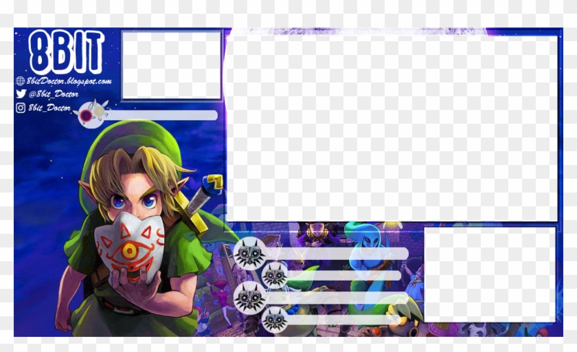 Stream Overlay - Majora's Mask - Ocarina Of Time 3d, HD Png