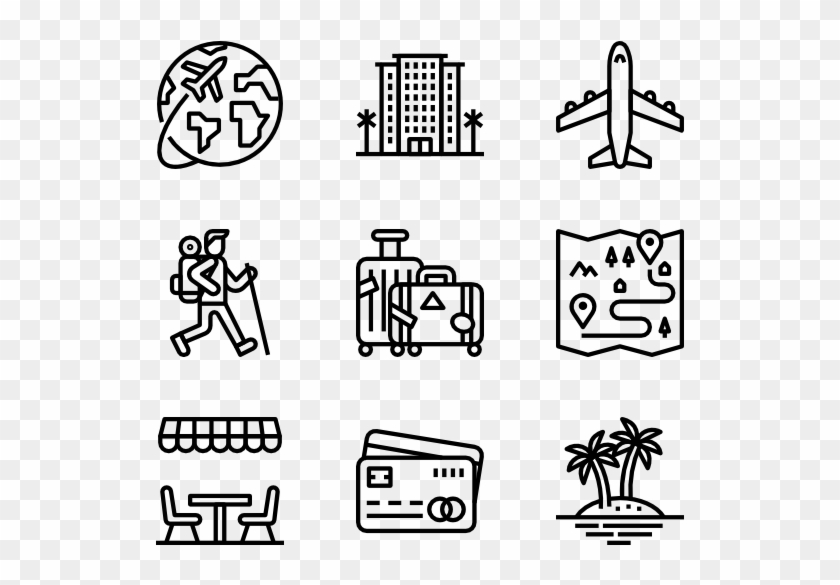 Travel Travel Icon Transparent Background Hd Png Download 600x564 114695 Pngfind