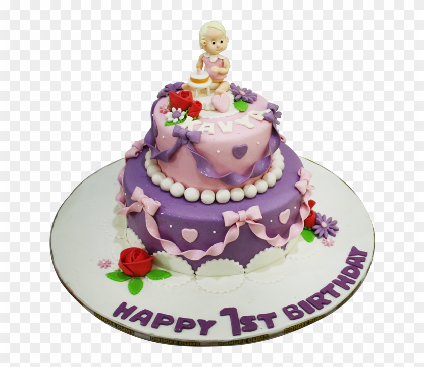 1st Birthday Cake, HD Png Download - 646x648(#117399) - PngFind