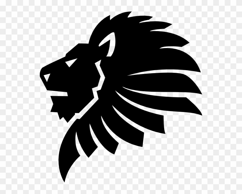 Image Result For Lion Logo Pinterest Black Lion Head