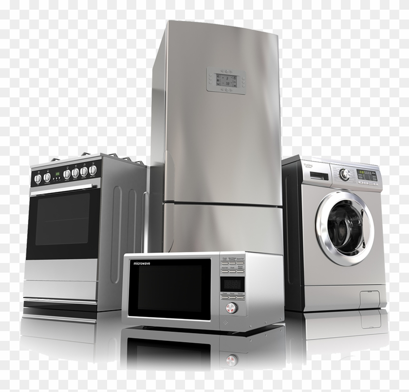 Home Appliances Clip Appliance Set Hd Png Download 1000x750 118820 Pngfind