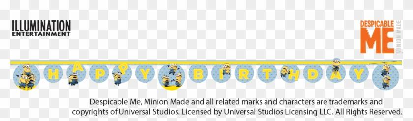 Minions Happy Birthday Banner Happy Birthday Minion Png