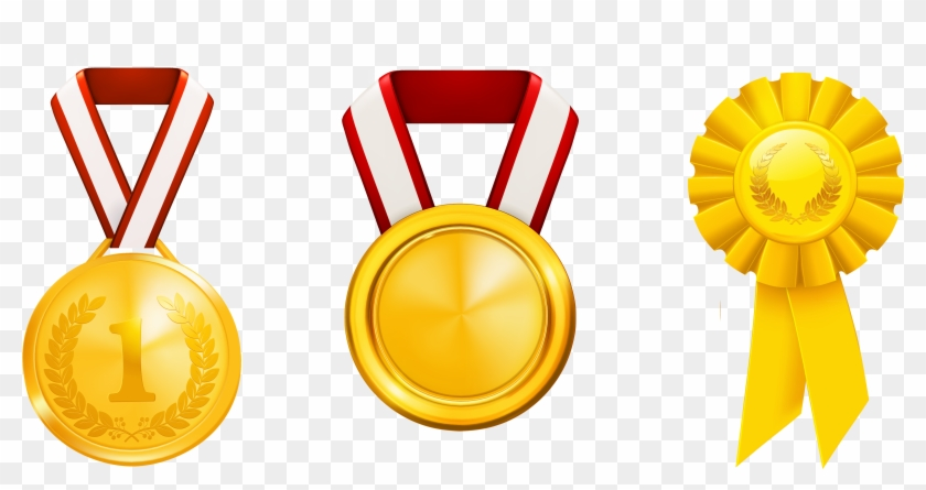 Gold Medal PNG Clip Art Image   Gallery Yopriceville - High-Quality Images  and Transparent PNG Free Clipart