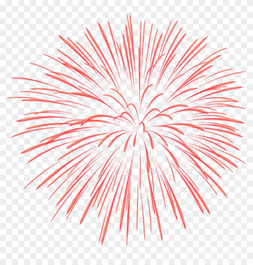 Firework transparent background. Clipart download red fireworks