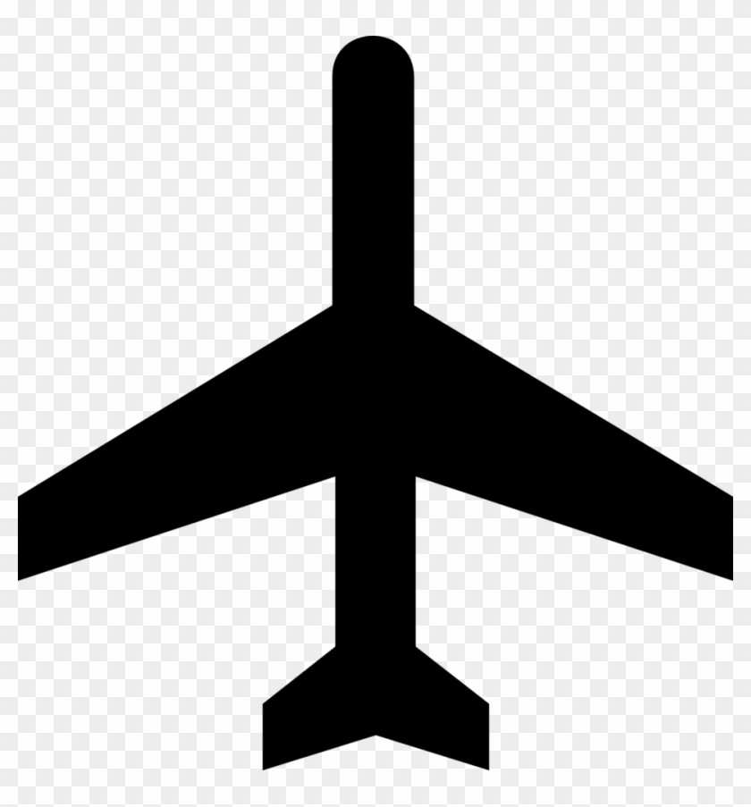 Airport Symbol On A Map, HD Png