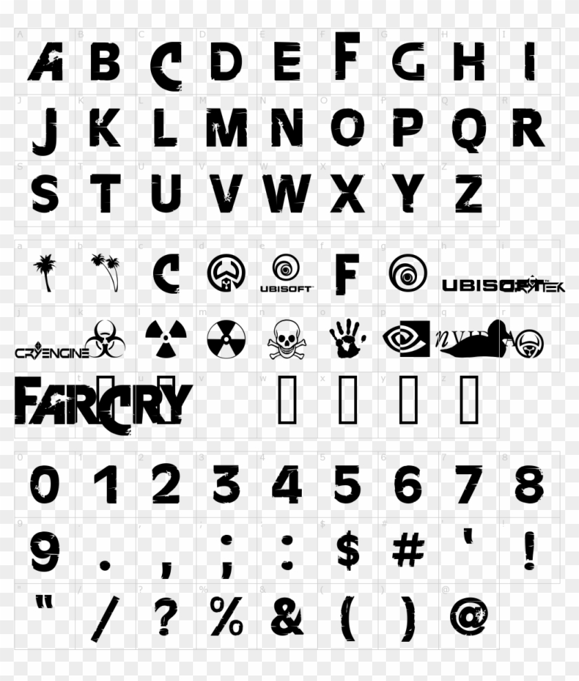 1000 X 1150 6 Far Cry 5 Font Hd Png Download 1000x1150 1111615 Pngfind