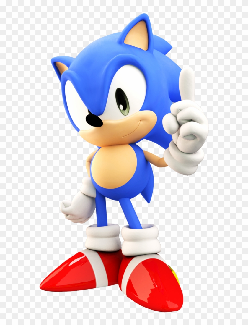 Sonic Generations Classic Running Pictures Classic Sonic Running Hd Png Download 579x1019 1122580 Pngfind