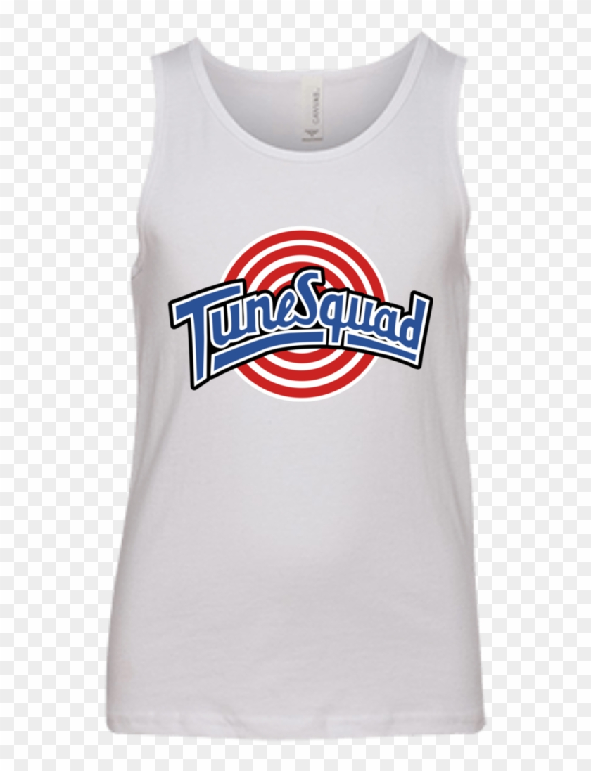 free shipping 7ab61 4939e Tune Squad Youth Jersey Tank T-shirts, HD Png Download ...