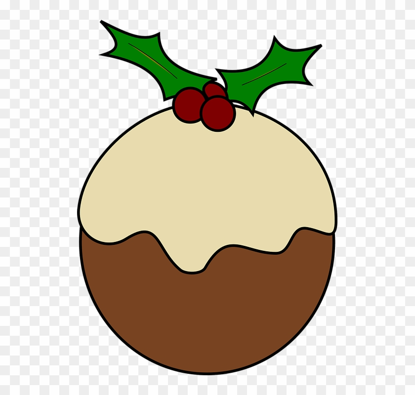 Christmas Holly Cartoon.Cartoon Christmas Holly Christmas Pudding Clip Art Hd Png