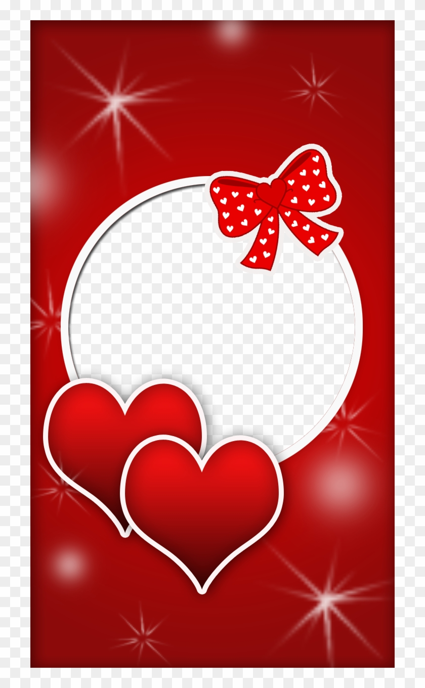 Red Love Frame - Love Frames For Photos Free Download, HD