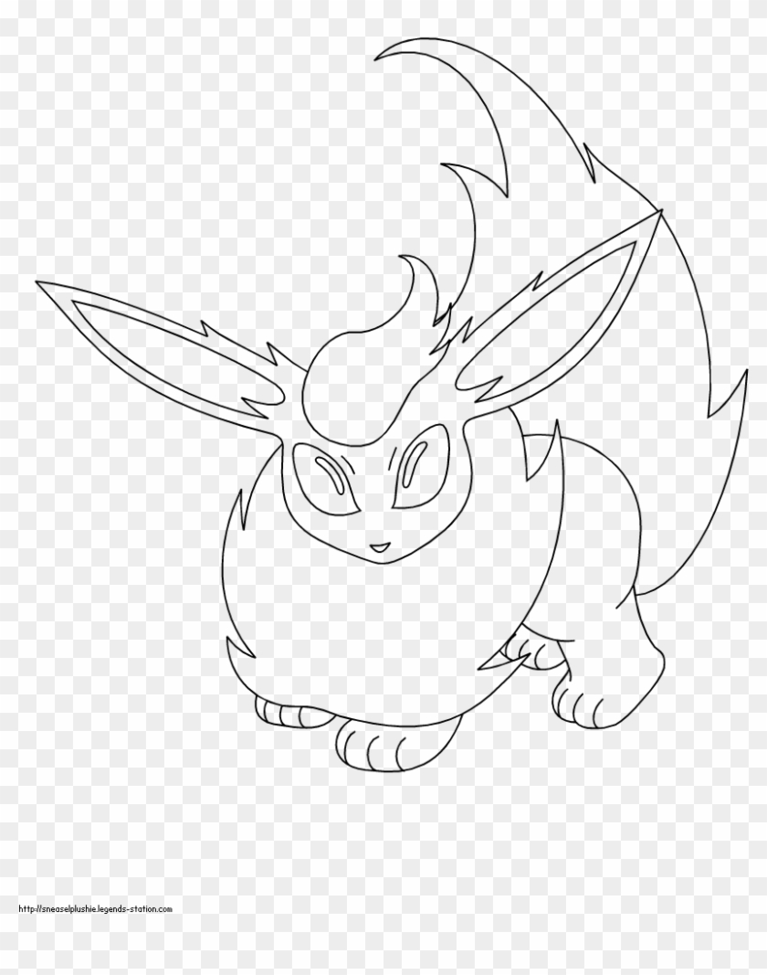 flareon coloring pages sketch hd png download 850x1100 1130890 pngfind flareon coloring pages sketch hd png