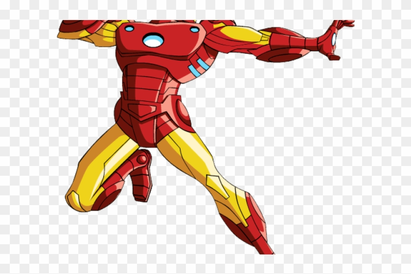 Iron Man Clipart Marvel Comic Iron Man Suit Clipart Hd Png Download 640x480 1139688 Pngfind