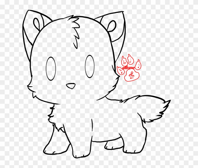 Cute Wolf To Draw